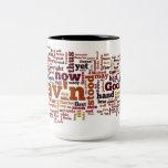 Paradise Lost Book 6 Coffee Mugs