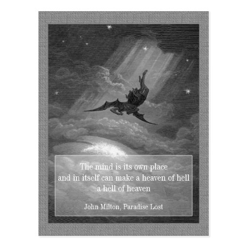 Paradise Lost CC0148 Postcard Post Cards