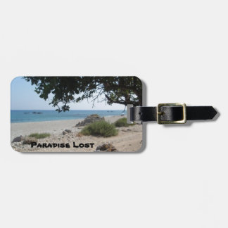 Paradise Lost Travel Bag Tags
