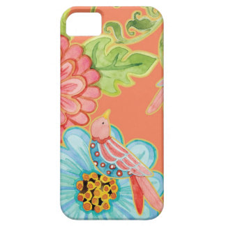 Paradise Love Birds Floral Modern Stylish Flowers iPhone 5 Case