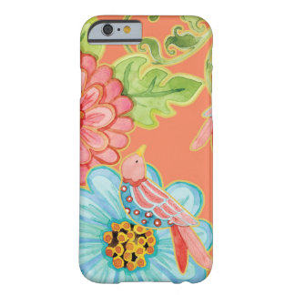 Paradise Love Birds Floral Modern Stylish Flowers Barely There iPhone 6 Case