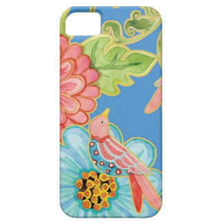 Paradise Love Birds Floral Modern Stylish Flowers iPhone 5 Cover