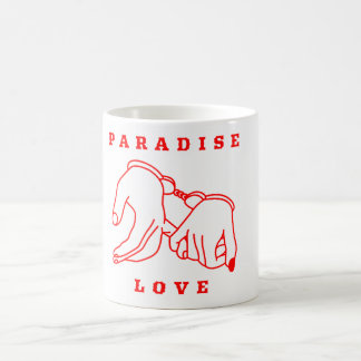 Paradise Love White 11 oz Classic Mug