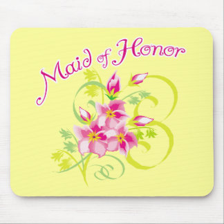 Paradise Maid of Honor Favors Mouse Pad