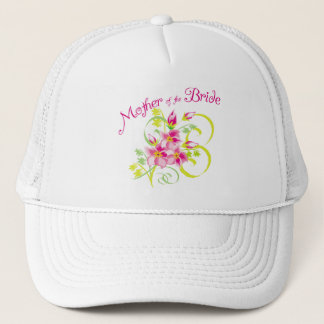 Paradise Mother of the Bride Gifts Trucker Hat