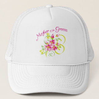 Paradise Mother of the Groom Gifts Trucker Hat