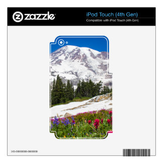 Paradise Mt. Rainer Decal For iPod Touch 4G