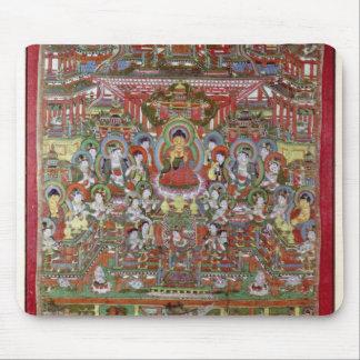 Paradise of Amitabha Mouse Pad