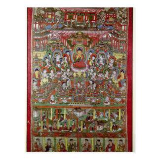 Paradise of Amitabha Postcard