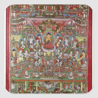 Paradise of Amitabha Sticker