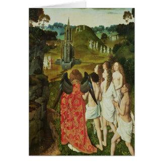 Paradise of the Symbolic Fountain Card