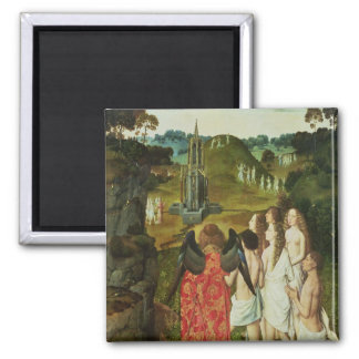 Paradise of the Symbolic Fountain Magnet