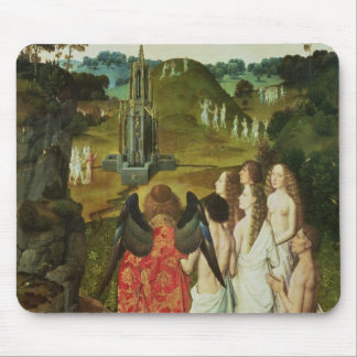 Paradise of the Symbolic Fountain Mouse Pad