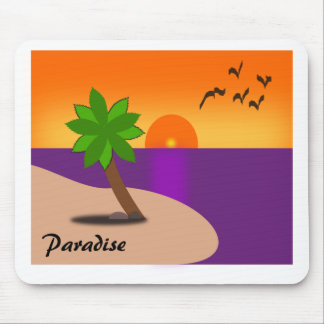 Paradise on the Beach Mouse Pad