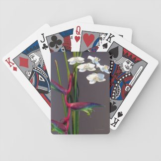 Paradise Orchids Bicycle Playing Cards