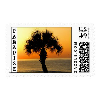 Paradise Palm stamp