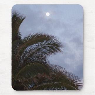 Paradise Palms Sunset Hawaii Mouse Pad