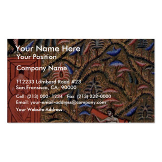 Paradise Paradise, The Four Rivers And The Gate O Double-Sided Standard Business Cards (Pack Of 100)