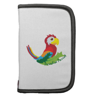 Paradise Parrot Folio Planner