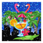Paradise Party in Style Bright Lights - SRF Personalized Invite