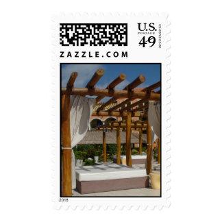 Paradise Pergola Stamp