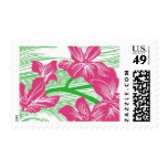 Paradise Pink Flowers B by Ceci New York Stamp