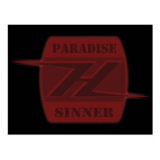 Paradise Sinner Postcard
