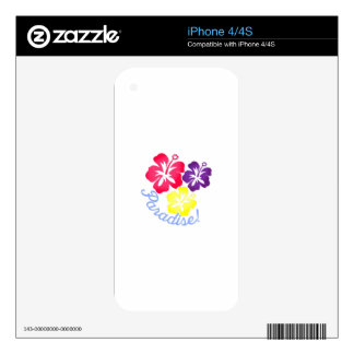 Paradise Skins For iPhone 4S