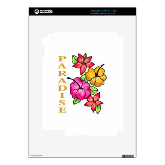 Paradise Decal For iPad 2