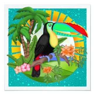 Paradise - SRF 5.25x5.25 Square Paper Invitation Card