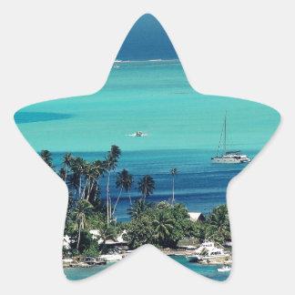 Paradise Star Sticker