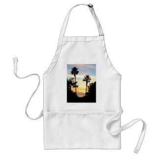 Paradise Sunset Adult Apron