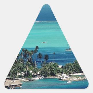 Paradise Triangle Sticker