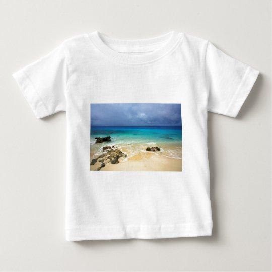 Paradise tropical island beach baby T-Shirt