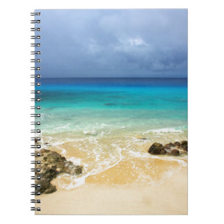 Paradise tropical island beach notebook