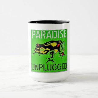 Paradise Unplugged Big Island Hawaii Mug