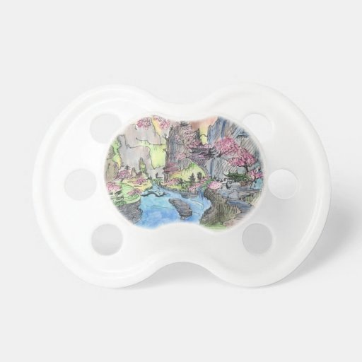paradise valley BooginHead pacifier