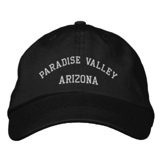 Paradise Valley Embroidered Baseball Hat