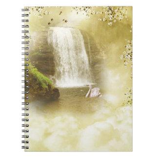 Paradise Waterfall Notebook