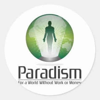 Paradism Round Sticker