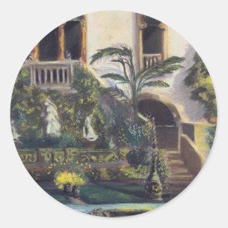 Paradiso di Venezia Classic Round Sticker
