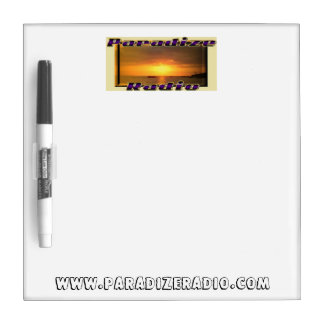 Paradize Logo Drywipe Board Dry Erase Board
