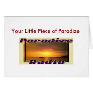 Paradize Radio Cards