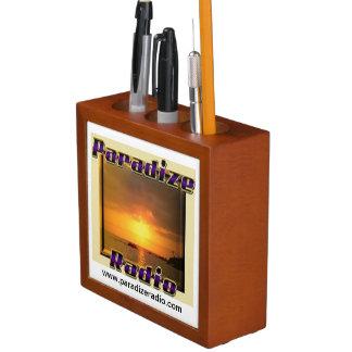 Paradize Radio Desk Organizer/Organiser/Tidy Pencil Holder