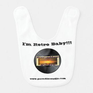 Paradize Retro Baby Bib!! Baby Bib