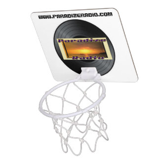 (Paradize Vinyl) Mini Basketball Hoop