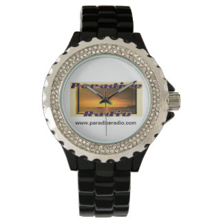 Paradize Watch (Rhinestone with Black Enamel)