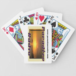 ParadizeRadio Logo Cards Playing Cards