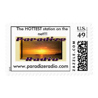 ParadizeRadio Logo Stamp! Postage Stamp
