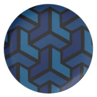 Paradoks (Blue) Plate